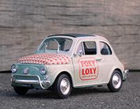 Foxy Loxy Car Wrap