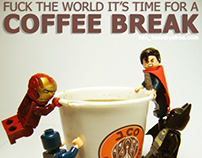 Fuck the world it's time for a coffee break