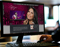 Mock up Website of Rossa  Indonesian Diva