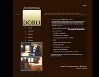 Webdesign Juwelenhuis Doro