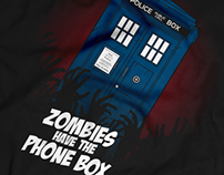 Zombies Have The Phone Box