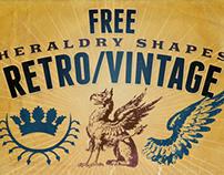 Free Retro/Vintage Graphic Designer Kit v.1