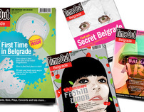 TimeOut Belgrade covers