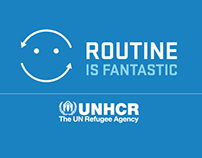 UNHCR Routine is fantastic - infographic