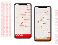 Map-UI design challenge