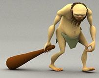 Caveman Walk Cycle