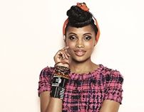 Imany For BE Magazine Jean-Charles Perrier