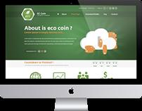 Eccoin.cc Web Design