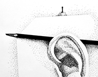 """ear"" a sketch from the past (24.02.2004)"