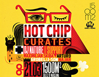 HOT CHIP CURATES! / POSTER / 2014