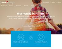 Digital Copywriting - Capital One Investing Homepage