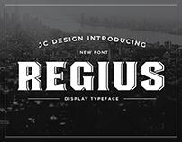 Regius - Typeface