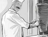 Gomaa CocaCola - Storyboard