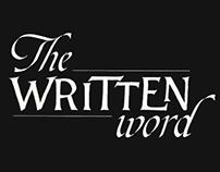 The written word
