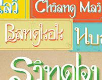 Arunsawat Thai Typeface