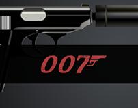 James Bond Gun