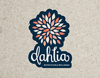Dahlia Nutrition & Wellness Logo