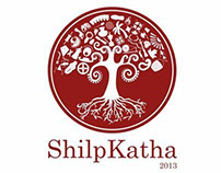 Visual Identity for ShilpKatha 2013