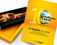 10th anniversary of Raiffeisen Bank in Serbia