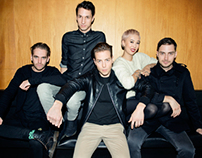 The Naked and Famous / Ladygunn