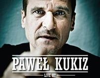 Pawel Kukiz at Edinburgh, poster