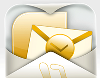 Outlook mail iphone application