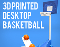 3D Printed Desktop Basketball | March Madness