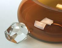 Cut Crystalline Vessels
