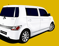 Daihatsu Materia Campaign Look and Shooting