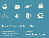 Free Transport Icons Set