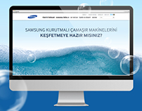 Samsung Eco Bubble Microsite
