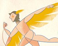 Between Hermes & Icarus