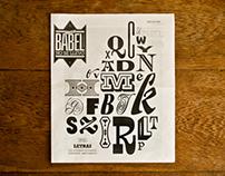 Babel Nº12 - Letras