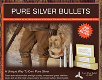 Cabela's Magazine Ad - Silver Bullets