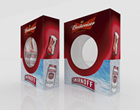 Empaque Budweiser - Smirnoff Ice