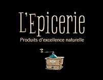 L'Epicerie - Delicatessen Identity