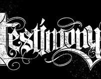 August Alsina: Testimony Typography