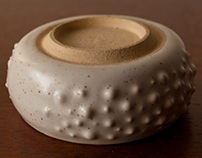 Ceramics - Urchin inspired vessels