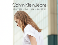 Calvin Klein Jeans - Rooftops shooting