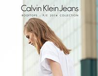 Calvin Klein Jeans - Rooftops shooting