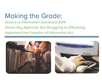 Making the Grade: Access to Information Scorecard 2014