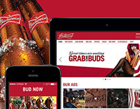 Budweiser USA Responsive Website