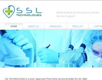 Basic web design for SSL Technologies