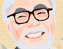 Hayao Miyazaki's Illustration
