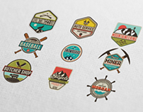 Vintage Labels & Badges