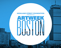 ArtWeek Boston Branding