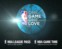 "NBA GLOBAL TUNE-IN CAMPAIGN ""SHOTS"""