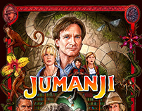 JUMANJI - Blu-ray & 4K Art