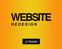 Website Redesign: JJ Snacks