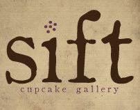 Branding Package - Sift Baking Company
